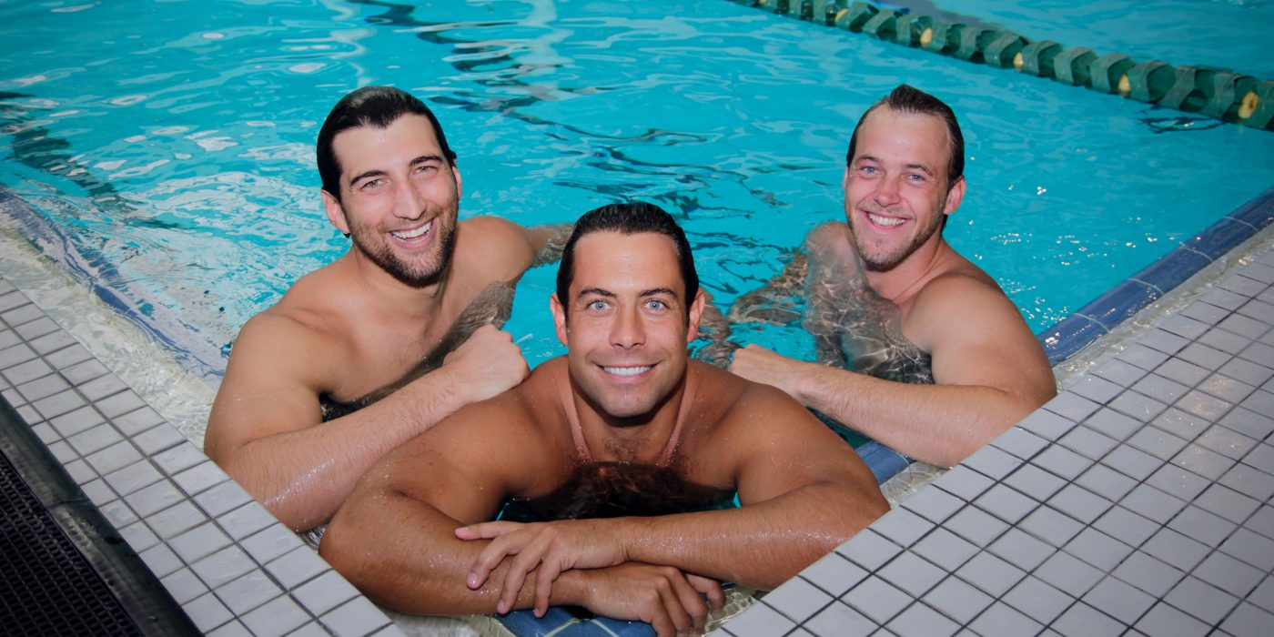 Men in Pool
